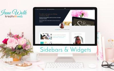 Sidebars und Widgets